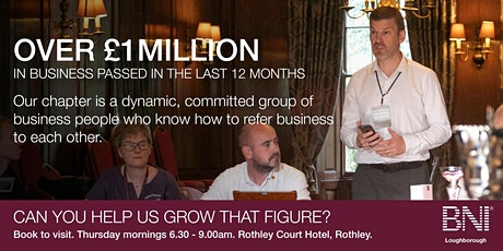 How To Grow Your Business With Referrals - Leicestershire Business Events tickets
