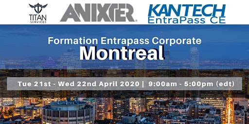 Formation Entrapass Corporate à Montréal - Anixter