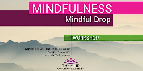 Mindfulness - Mindful Drop ingressos