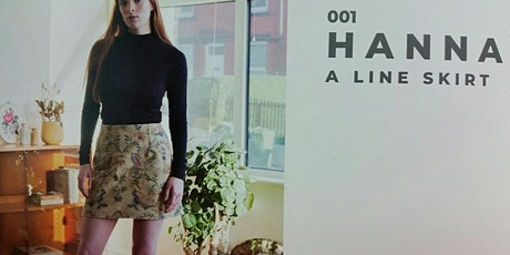 Hanna A Line Skirt in a day - School of Sew tickets