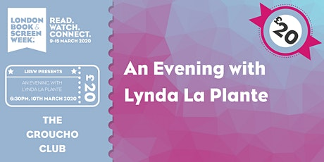 An Evening with Lynda La Plante tickets
