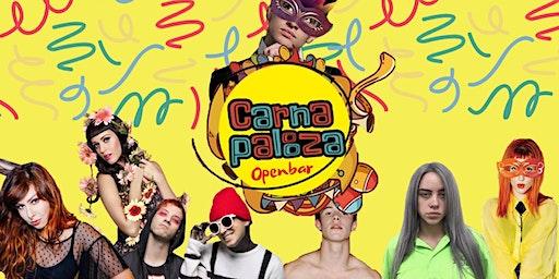 ✦ Carnapalooza ✦ Openbar ✦ 21.02 ✦ Carnaval na Santorini