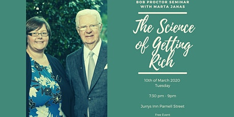 Bob Proctor Seminar with Marta Janas - The Science of Getting Rich tickets