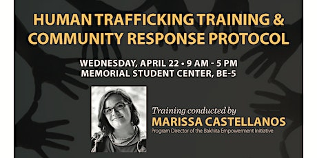 Human Trafficking Training and Community Response Protocol tickets