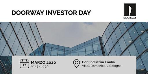 Doorway Investor Day Bologna