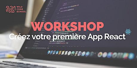 Créez votre première App | ReactJS (débutants) billets