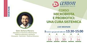 WEBINAR - Dott. Stefano Manera - MICROBIOTA E...
