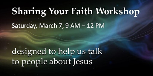 Sharing Your Faith Successfully