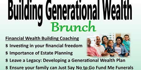 Breaking the Curse Building Generational Wealth Brunch tickets