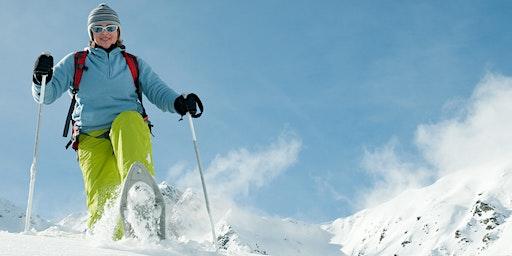 Balade sportive en raquettes à neige !