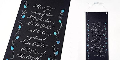 Beginner's Modern Calligraphy
