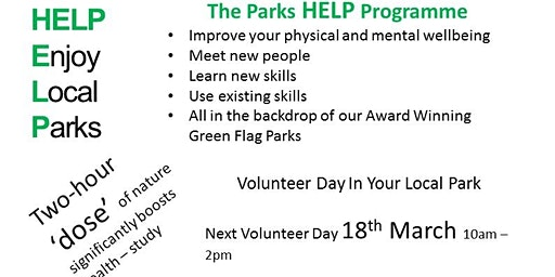 Volunteer day at Northumberland Park