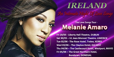 MELANIE AMARO: THE LOVE SONGS TOUR tickets