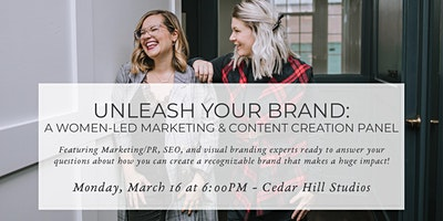 Unleash Your Brand: A Women-Led Marketing & Content Creation Panel