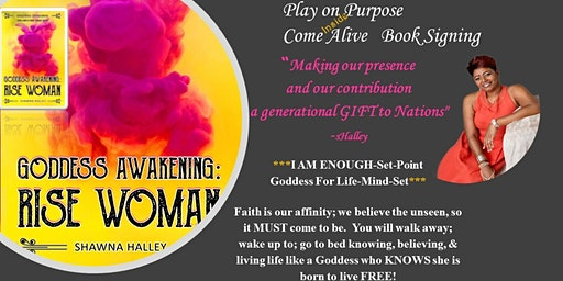 """Play on Purpose Come Alive """"INSIDE"""" Book Signing   Woman who knows..."""