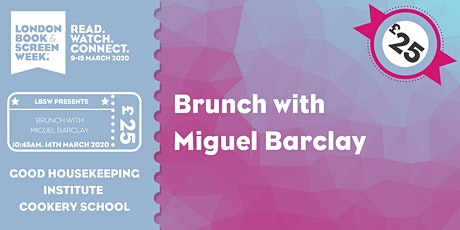 Brunch with Miguel Barclay tickets
