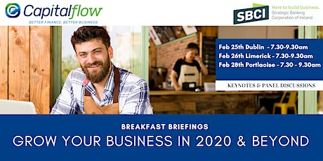 Grow Your Business in 2020 and Beyond - Dublin Airport tickets