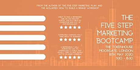 The Five Step Marketing Bootcamp tickets