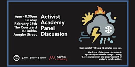 Activist Academy tickets