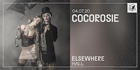 CocoRosie @ Elsewhere (Hall) tickets