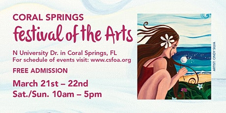 16th Annual Coral Springs Festival of the Arts tickets