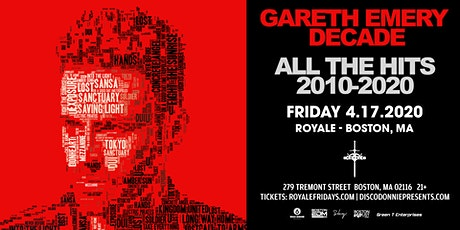 Gareth Emery at Royale | 4.17.20 | 10:00 PM | 21+ tickets