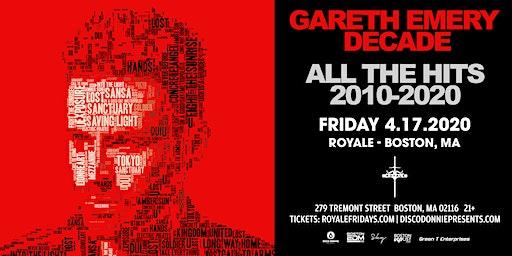 Gareth Emery at Royale | 4.17.20 | 10:00 PM | 21+