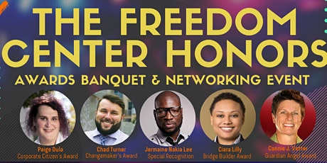 The Freedom Center Honors - 2020 Awards Banquet tickets