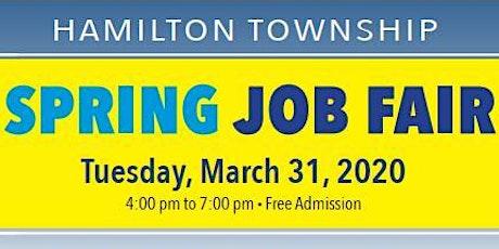 Hamilton Township HTEDAC Spring 2020 Job Fair  tickets