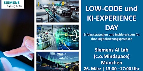 Low-Code Experience Day in  München Tickets