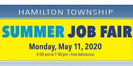 Hamilton Township HTEDAC Summer 2020 Job Fair  tickets