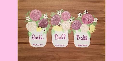 Mason Jar Painting!