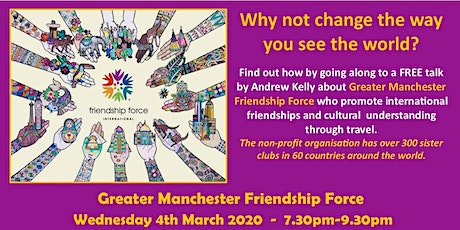 Great Manchester Friendship Force tickets