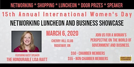 International Women's Day Networking Luncheon & Business Showcase tickets