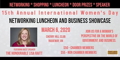 International Women's Day Networking Luncheon & Business Showcase
