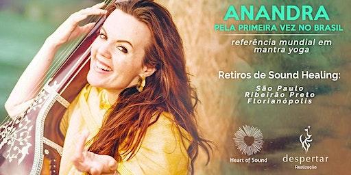 Retiro de Aprofundamento em Mantra Yoga com Anandra George - São Paulo