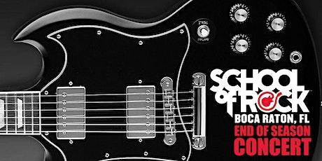 School of Rock Boca Raton End of Season Concert tickets