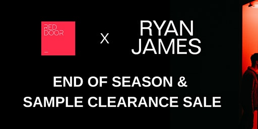 Red Door Interiors X Ryan James Studio Sample and Clearance Sale