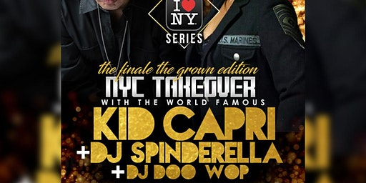 NY Takeover 2020 with Kid Capri & DJ Spinderella