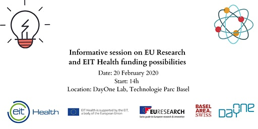 Informative session on EUResearch and EIT Health funding possibilities