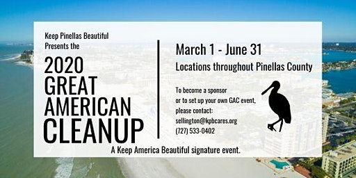 2020 Great American Cleanup - Upham Beach Cleanup