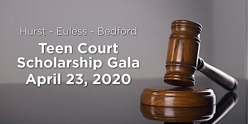Hurst-Euless-Bedford Teen Court Scholarship Gala