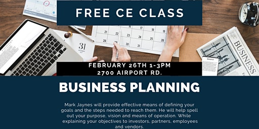 Business Planning CE