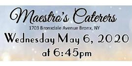 May 6th FREE Bridal Show at Maestro's Caterers in Bronx, NY tickets