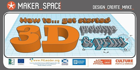 How to… prototype 3D Modelling & Printing tickets