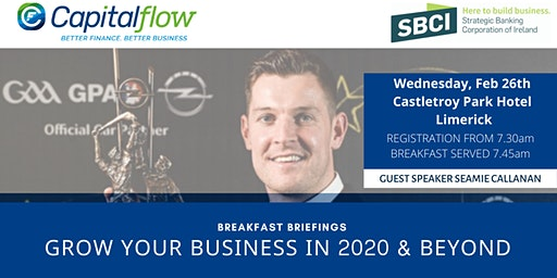 Grow Your Business in 2020 and Beyond - Limerick