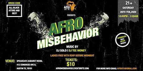 Afro Misbehavior tickets
