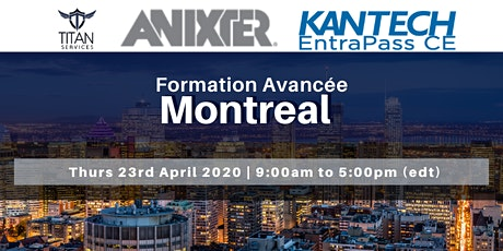 Montreal - Formation Avancée billets