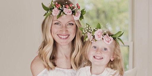 Mother/Daughter Flower Crowns at Birdwell's