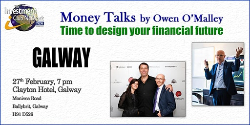 Money Talks. Galway, February 27th, 2020